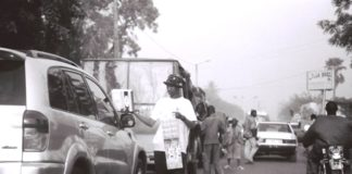 Une rue de Bamako