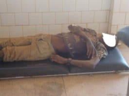 Le corps d'un élève de Kindi (proche de Koudougou) à la morgue