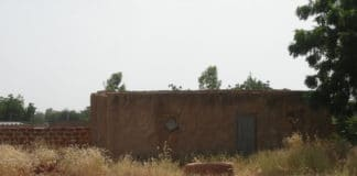 Maison construite par Thomas Sankara à Tema Bokin pendant qu'il était président (photo Bruno jaffré)