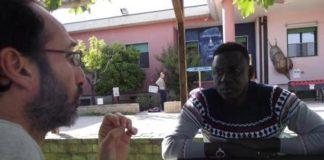 Antonio Fiscarelli e Mbaye Ndaye ad Art Village