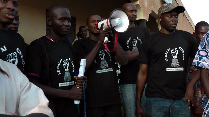 Le balai citoyen de Bobo Dioulasso en action