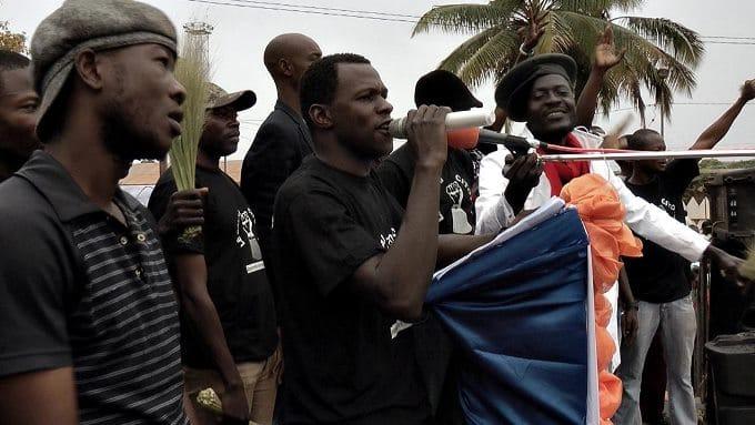 Le Balai citoyen en action à Bobo Dioulasso
